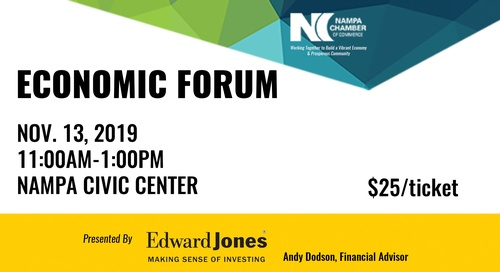 SOLD OUT! Economic Forum Presented by Edward Jones